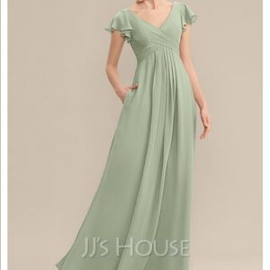 JJ House Chiffon Bridesmaid Gown